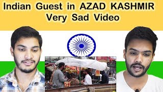 Indian Guest in AZAD KASHMIR   SOCIAL EXPERIMENT   Reaction   Swaggy d