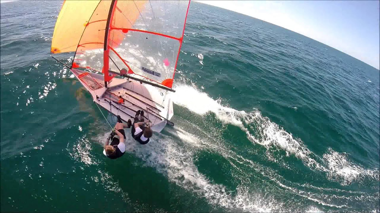 29er Sailing in SB with GoPro Camera - YouTube