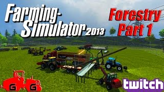 Farming Simulator 2013 - Forestry Part 1!(Farming Simulator 2013: Forestry - Part 1! We have started a new forestry company and are being hired by a new land owner to turn some neglected land back ..., 2014-09-17T22:55:01.000Z)