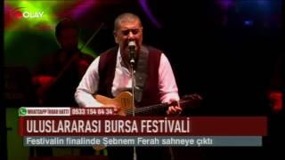 Bursa'da Şebnem Ferah rüzgarı (Haber 27 07 2017)