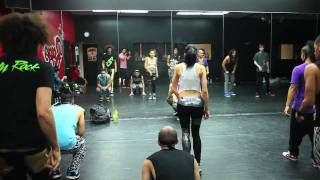 Behind the Scenes LMFAO Party Rock Anthem Rehearsal with QUEST CREW