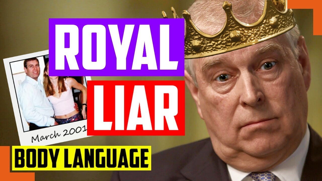 Your Proof Prince Andrew Is Guilty As Jeffrey Epstein's Co-Conspirator – Body Language Secrets