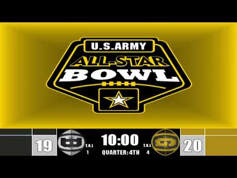 Watch Live: 2019 U.S. Army All-Star Arena Bowl