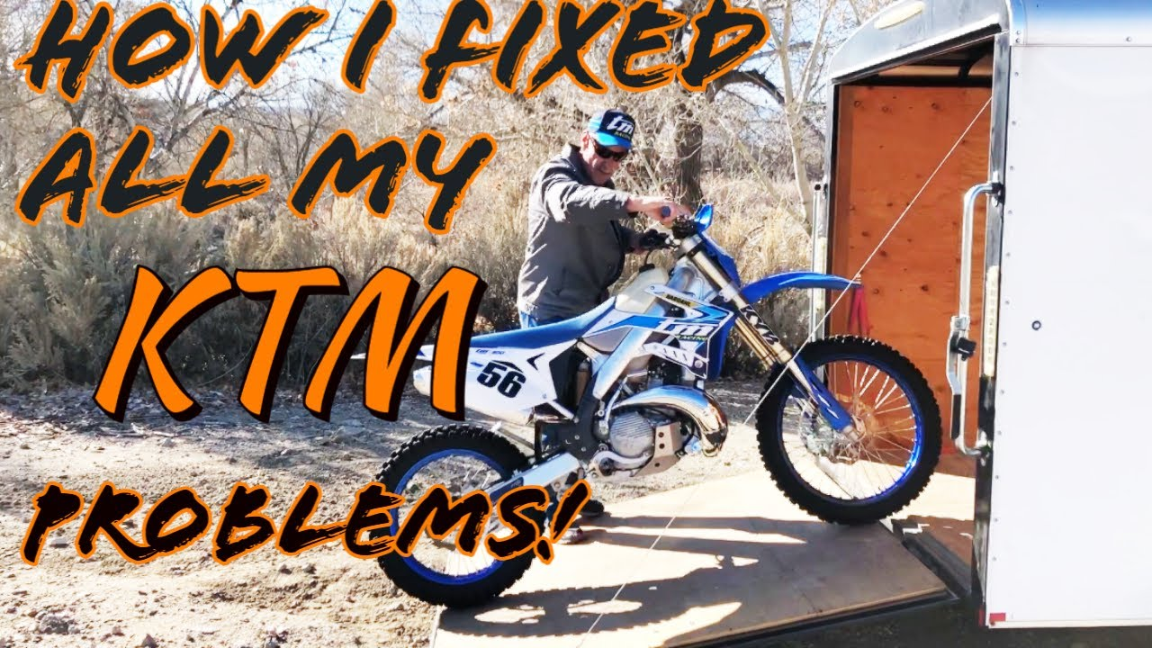 How I fixed all my KTM Problems!