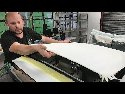 How To Fit A Nissan Figaro Roof