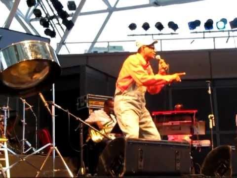 PANMAN  PAT - Caribana show Toronto 2011 Calypso Music