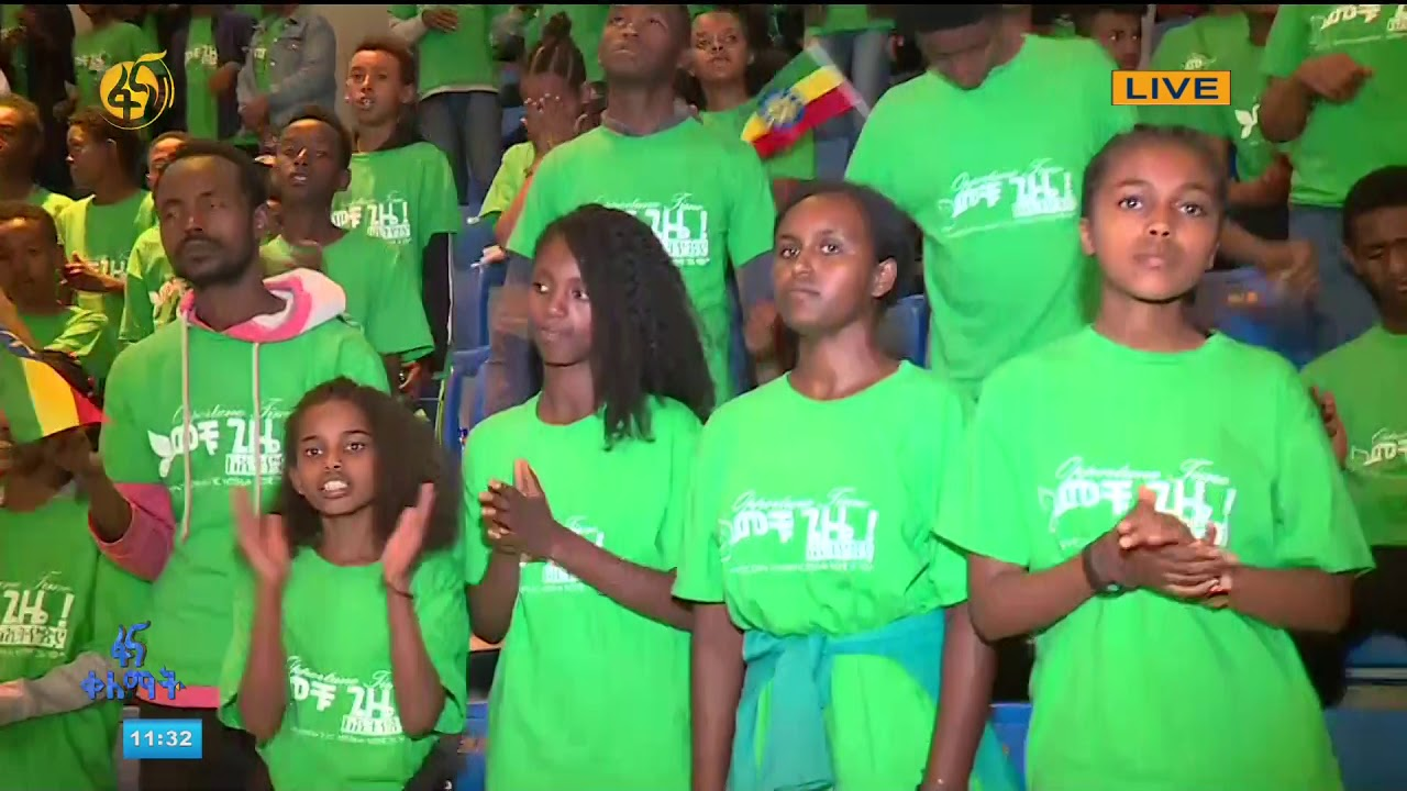 FANA TV ገርጂ አማኑኤል ቤ/ክ መቹ ጊዜ(Opportune time) Live on #ፋናቀለማትFANAKLEMAT( 2019 Ethiopia)