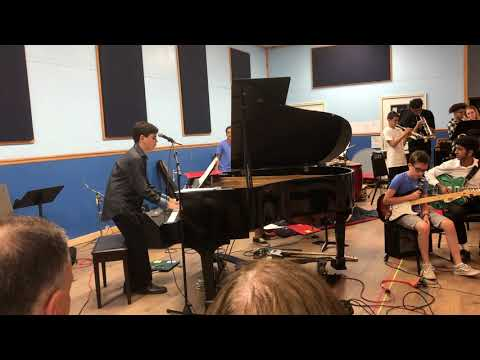 ETHAN W Performs Ray Charles's  WHAT'D I SAY