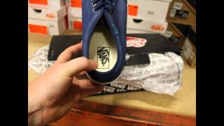 974178ec0c Vans 106 Vulcanized (Chambray) Peacoat Indian Unboxing