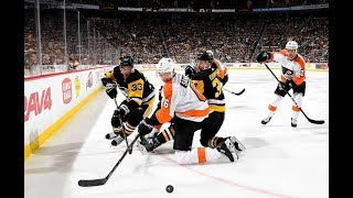 Pphiladelphia Flyers vs Pittsburgh Penguins. 27  november  2017