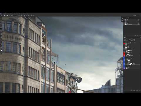 Matte Painting Demo with Maxx Burman