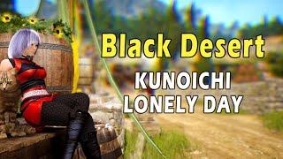 [Black Desert] Kunoichi One Lonely Day. Music video.