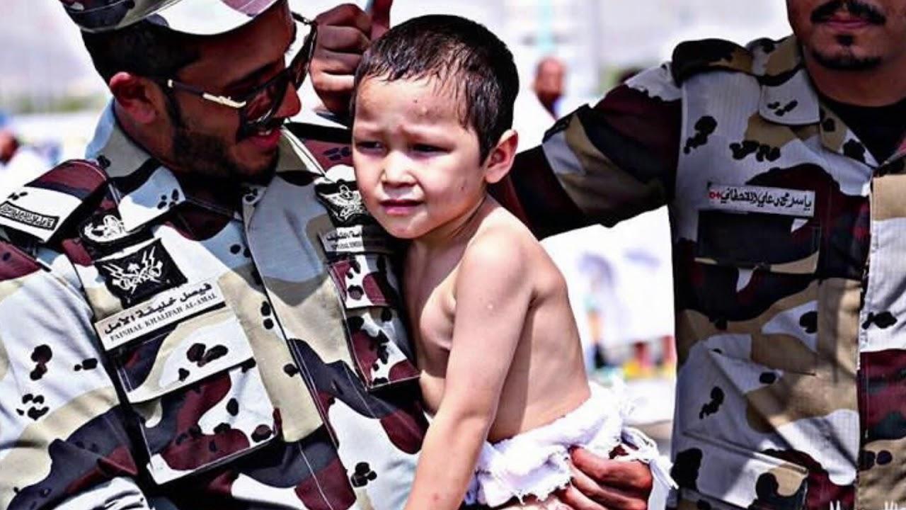 شكراً رجال الامن في الحج ٣٨ Thank you security men for Hajj 38