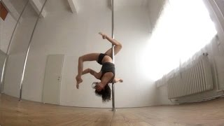 Spinning Pole Combo Routine Intermediate