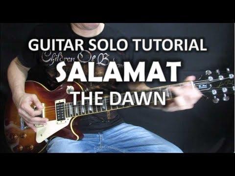 Salamat - The Dawn (Guitar Solo Tutorial)