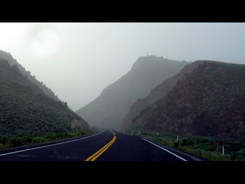 Loneliest Road in America #5: Western Nevada desert storm at New Pass 2016-06-05