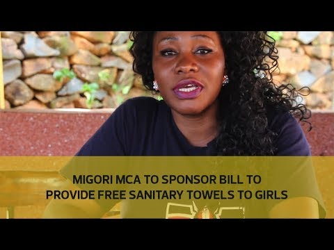 Migori MCA to sponsor bill to provide free sanitary towels to girls