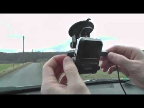 Ednet Dash Cam - DVR For Your Car - Recording & Monitoring - HD Video