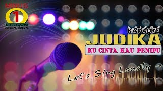 Judika - Ku Cinta Kau Penipu : Karaoke Lirik Instrumental HQ Audio