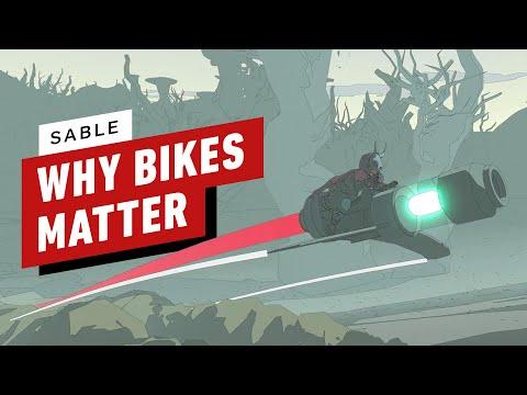 Новый трейлер игры Sable рассказывает о мотоциклах в игре