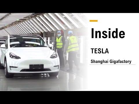 [English-Subtitled] Tesla Gigafactory Shanghai Exclusive Media Tour interview Part 1
