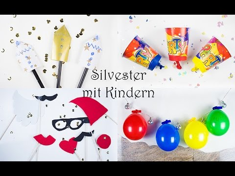 silvester mit kindern 4 tolle ideen f r silvester party. Black Bedroom Furniture Sets. Home Design Ideas