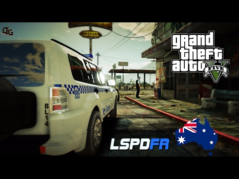 GTA 5 - NSW Police Mod - Mitsubishi Pajero General Duties Patrol (Play GTA 5 as a Cop mod for PC)
