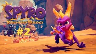 [Re-Transmision] A seguir rescatando dragones UwU ♥ Jugando Spyro Reignited Trilogy al 100% (Cap 2)