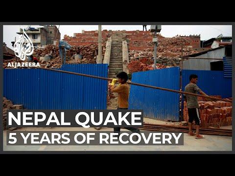 Nepal quake: Reconstruction still in progress five years on