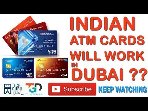 इंडिया के ATM कार्ड क्या दुबई में चलते हैं| Indian ATM cards will work in DUBAI ??? | HINDI URDU |