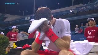 Andy Murray Breaks Down in Tears After 3am Washington Win   Citi Open 2018