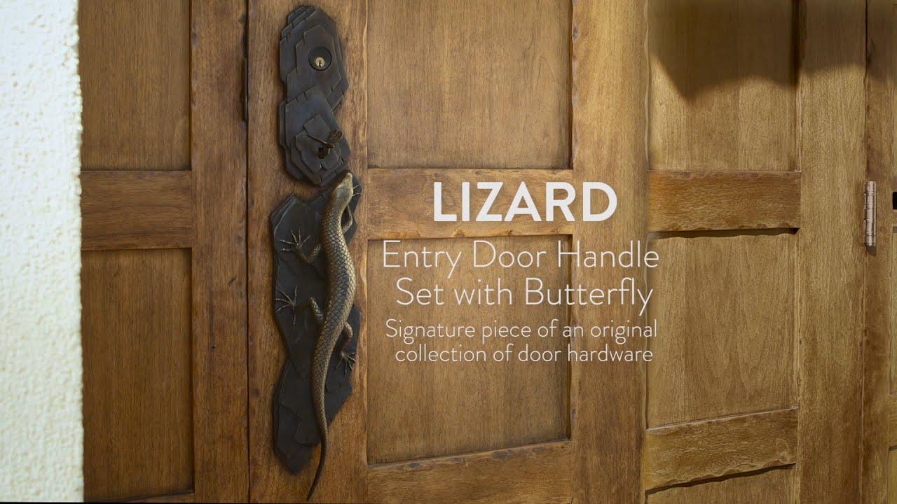 Lizard Door Handle - YouTube