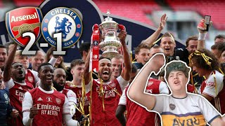 Arsenal 2 Chelsea 1 | Reaccion de un Argentino | FA CUP 2020 - FINAL Wembley