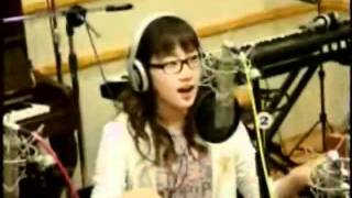[20080331] SNSD Taeyeon - Aegukga (South Korea's National Anthem)