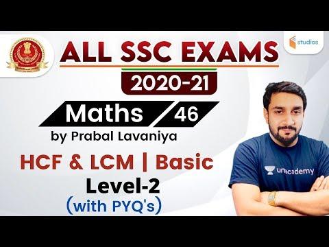 7:30 PM - All SSC Exams 2020-21 | Maths by Prabal Lavaniya | HCF & LCM Basic Level 2 (with Tricks)