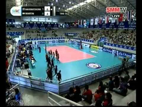 Nakhon Ratchasima(THA) vs Matin Varamin(IRA) #volleyballzone.net