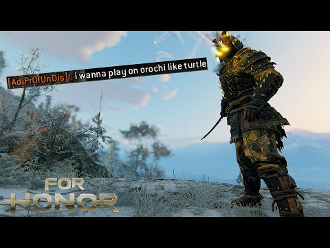 Countering Option Selects Makes You A Turtle? - Orochi Brawls Ep.#321 [For Honor]