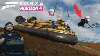 Forza Horizon 4 — батл против фургона на ВОЗДУШНОЙ ПОДУШКЕ! Наш ПЕРВЫЙ РАРИТЕТ!