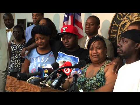 Marcella James thanks Miami Gardens police for apprehending a suspect in her daughter's murder