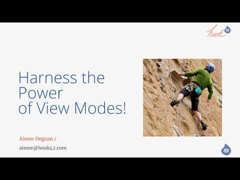 Harness the Power of View Modes!