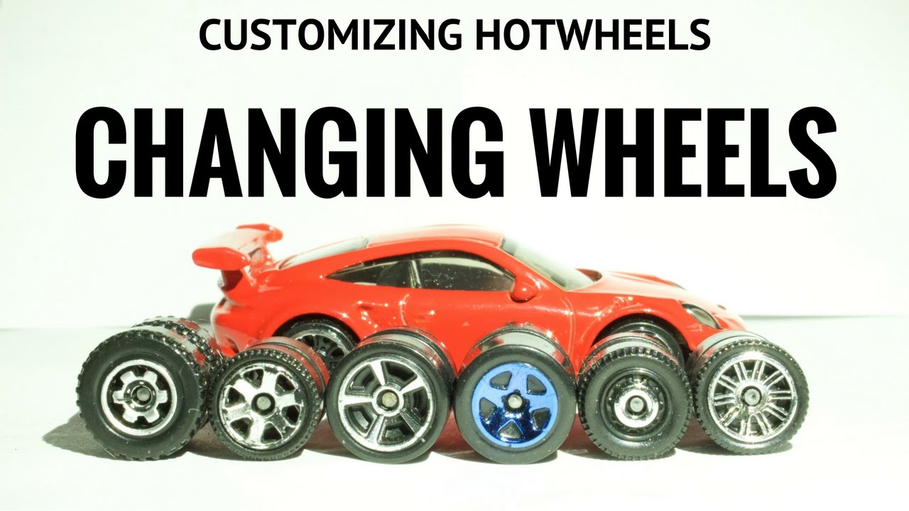 How To Customize Hotwheels Part 2 Taking Apart The Hotwheel And