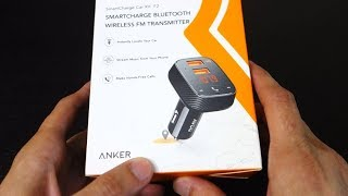 Anker Roav Smartcharge Bluetooth Wireless FM Transmitter Review