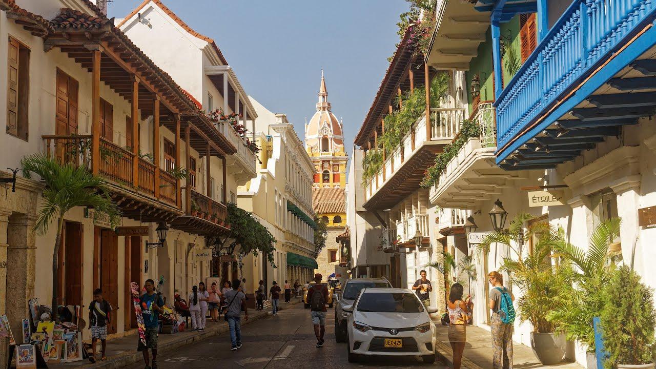 Cartagena Colombia In 4k Ultra Hd Youtube