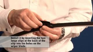 Valvoline Aquablade - Installing PH type arm