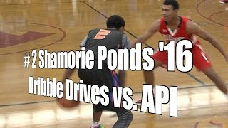 Shamorie Ponds '16, Dribble Drives vs. API, UA Holiday Classic, 12/30/15