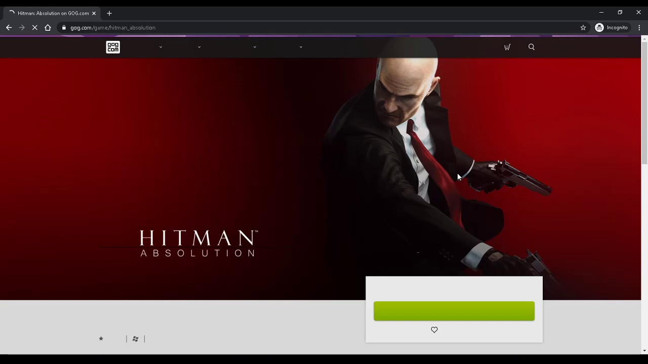 Grab A Free Copy Of Hitman Absolution On Gog Youtube