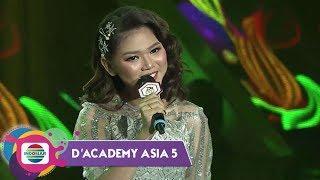 Suara Mendayu!! Cantiknya Puput LIDA-Indonesia Bawakan ''Laksamana Raja di Laut'' | D'Academy Asia 5