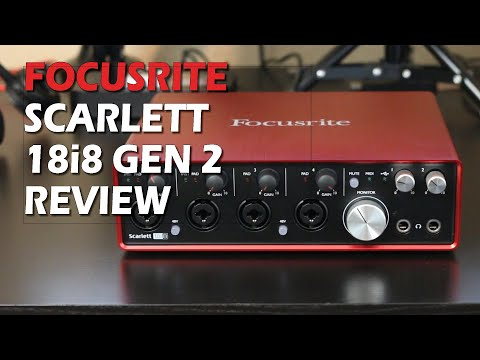 Focusrite Scarlett 18i8 Gen 2 Review