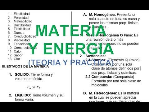 materia-y-energÍa:-teorÍa-y-practica