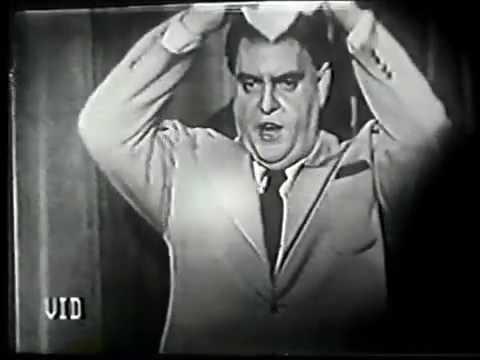 Zero Mostel imitates Jimmy Durante 1949